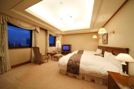 【セミスイート6F】VIPをお迎えする上質空間。ダブルサイズのベッドで添寝も安心♪家族での利用も◎