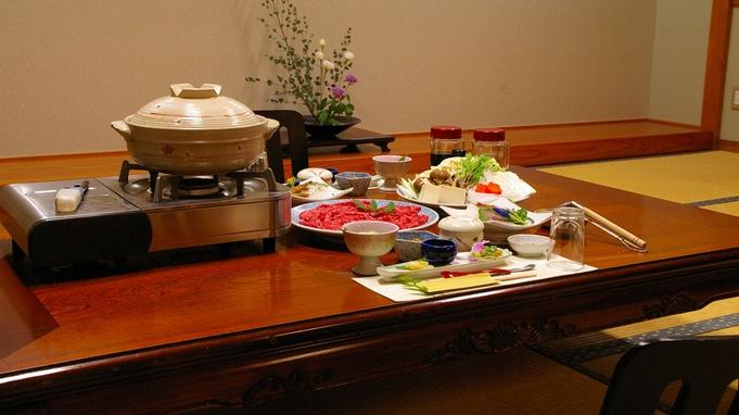 【すき焼・焼肉・しゃぶしゃぶ・鴨鍋・但馬地鶏鍋】5種類から大好物チョイス