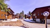 *北欧フィンランドから直輸入した木材を使用した本格的なコテージ。より充実した高原リゾートライフを。