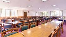 *お食事処/広々とした空間の大食堂で、地元の食材を活かした食事をお愉しみ下さい。