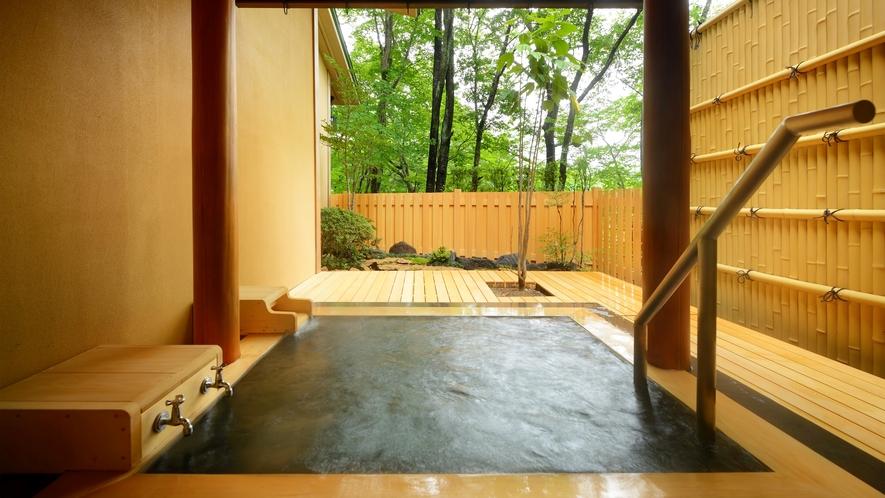 客室露天風呂(一例②)
