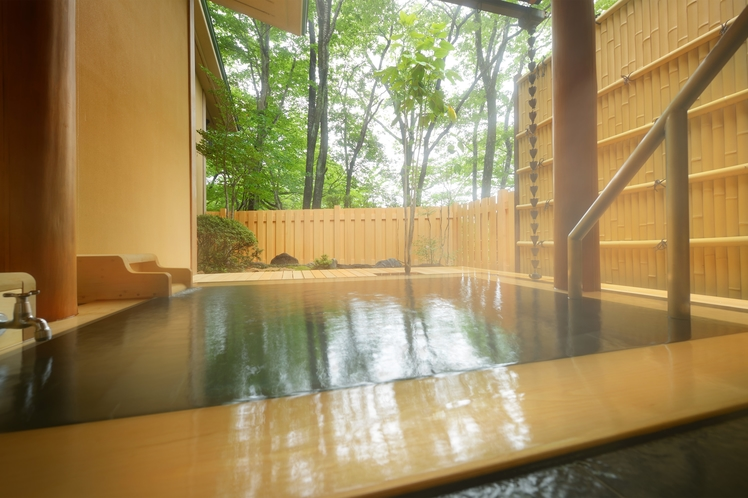 客室露天風呂(一例①)