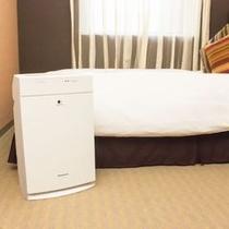 ■客室備品:加湿空気清浄機