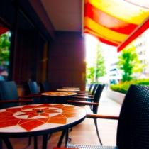 ■【 カフェ 北野ガーデン 】1F(朝食会場)