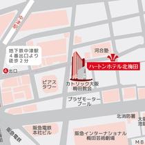■ホテル周辺図