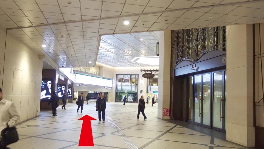 【JR大阪駅からのアクセス:3】
