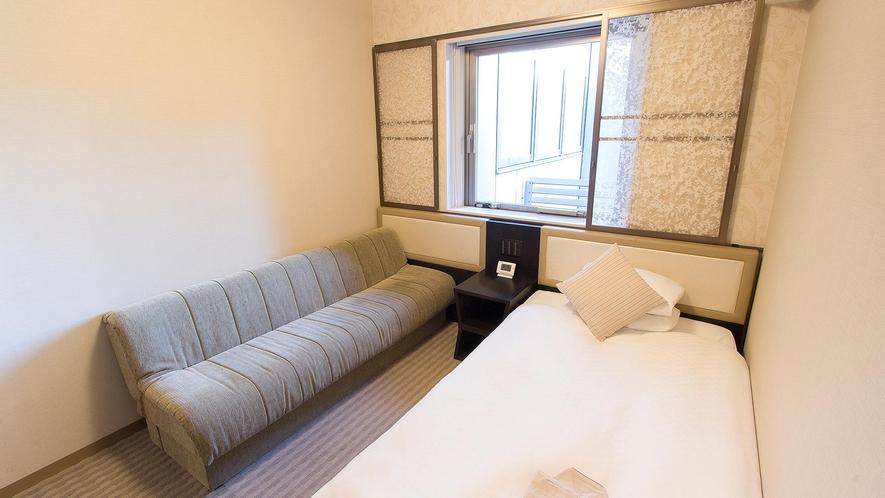 ■レディースルーム:シングルルーム 【 16.0㎡ 】ソファー付き 一例