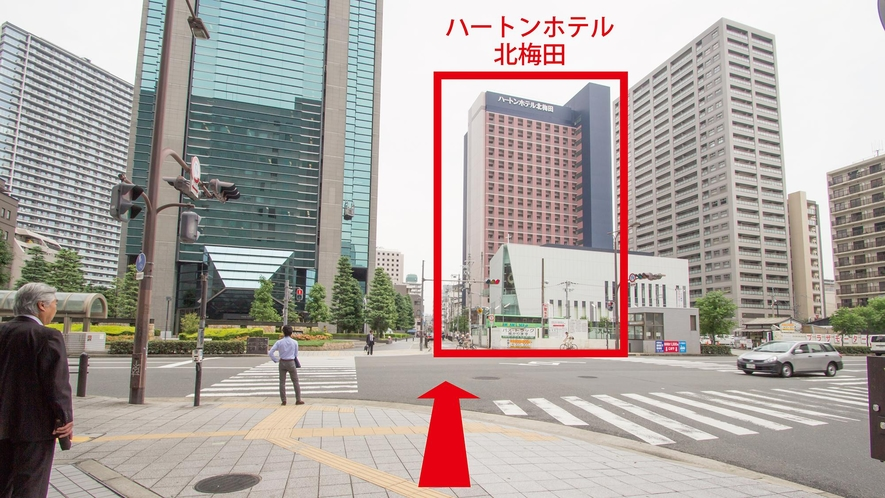 【JR大阪駅からのアクセス:7】