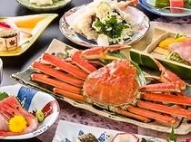 松葉蟹♪季節のお得会席
