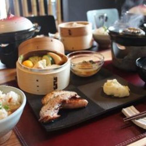 別邸KURO ご朝食