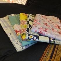 カワイイ選べる色浴衣