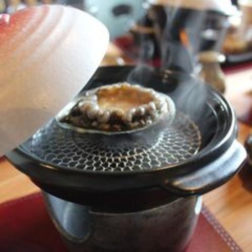 別邸KURO ご朝食 あわび
