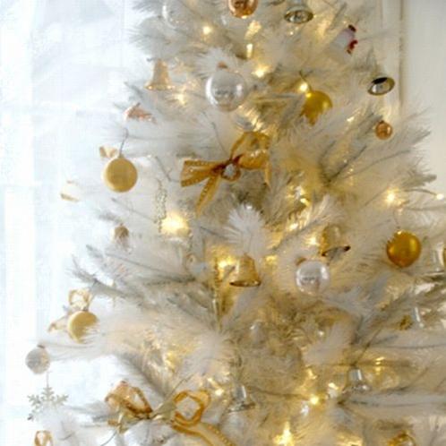 ホワイトクリスマスツリー★☆★