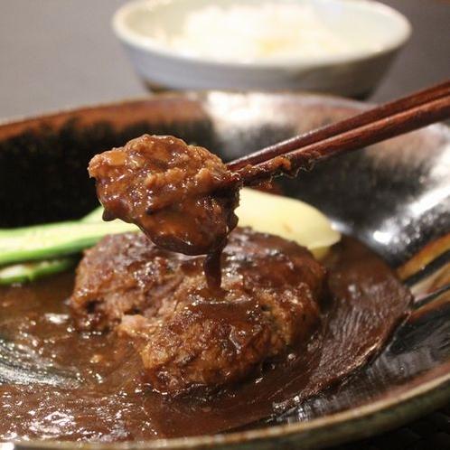 A5ランク神戸牛で作るハンバーグ