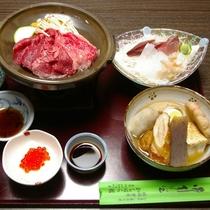 *【夕食一例】富山の四季折々の山海の幸をたっぷり楽しめる人気の夕食!