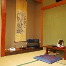 【和室6畳一例】畳のお部屋でゆっくりお寛ぎください。