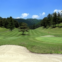 ゴルフコース(一例)