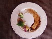 桜鯛のバプール&季節野菜 〜バルサミコソース〜