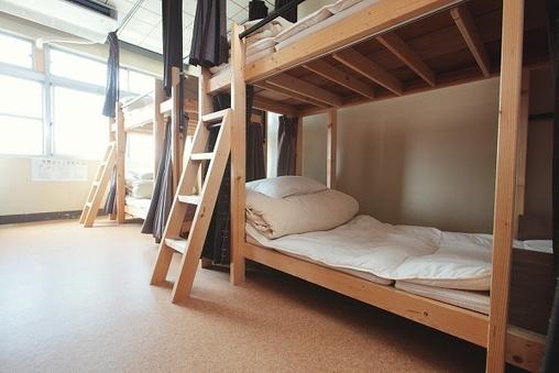 男女混合2段ベッド相部屋【6人部屋】