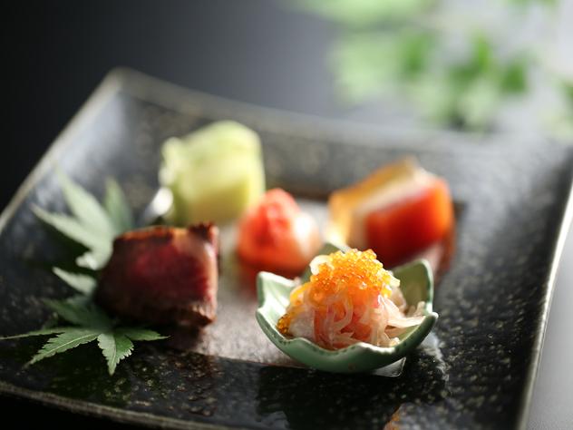 季節の前菜5品