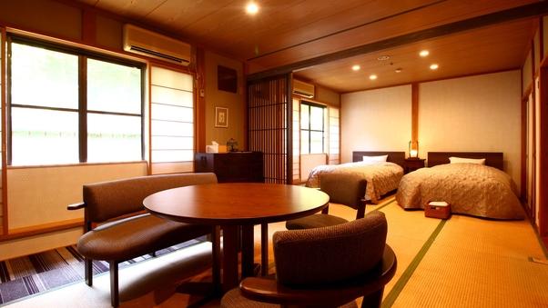 【庭側】16畳和洋室<トイレ付>