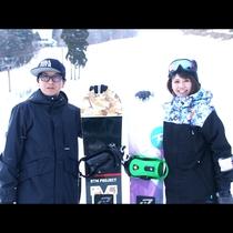 スキー・スノボーを楽しむなら、ぜひハチ北高原へ(*^^*)
