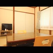 落ち着きのある雰囲気の和室です。