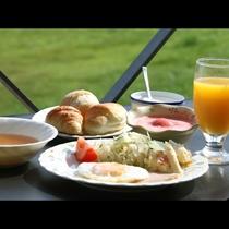 和・洋 選べる朝食(お写真は洋食☆)