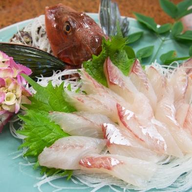 【Go】獲れたて天然魚介類など7品が付く旬海鮮11000円コース