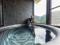 本館 モダン和室8帖+次間【半露天風呂付客室】