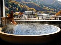 ロイヤルスィート露天風呂からの眺望