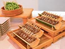 ビュッフェ(夕食例)