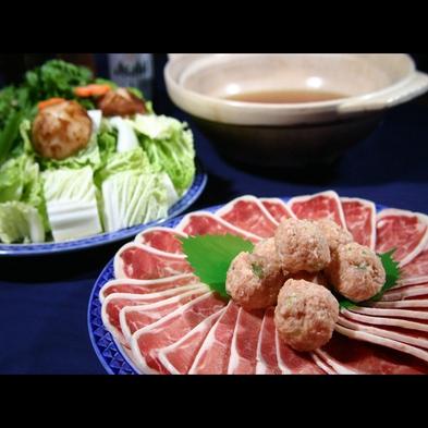 嬉しい♪お好きなお鍋をチョイス【鴨鍋or豚味噌鍋】[1泊2食付]