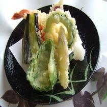 新鮮野菜の天ぷら