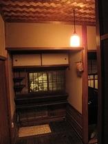 茶室の水屋