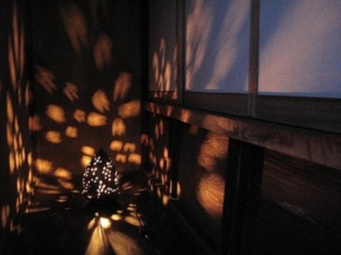 縁側の灯り