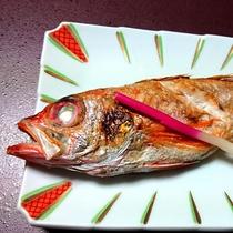*【夕食一例】高級魚のどぐろがまるまる一匹!その上品な味わいは煮てよし焼いてよし!