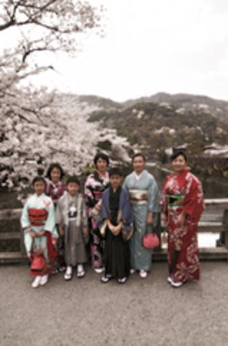 春の嵐山③