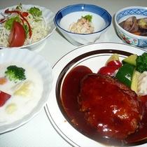 オーナーの手作り夕食※一例