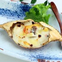 ■カニグラタン/お料理一例