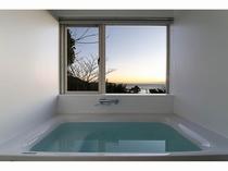 特別室の展望風呂