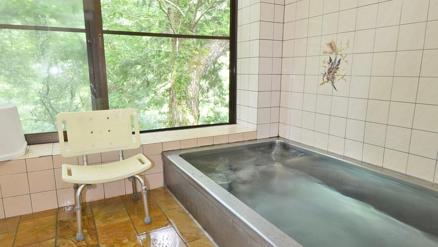 *【女湯】明宝温泉。泉質:アルカリ性単純温泉。肌にやさしい温泉です。
