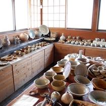 *笛吹の里で陶芸体験