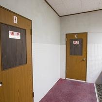*【館内(共有トイレ)】トイレなし客室のお客様はこちらをご利用いただいております。