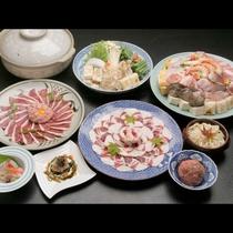 お好きな鍋が選べる♪お得なチョイスプラン。【牛すき】【ちゃんこ鍋】【鴨鍋】【ぼたん鍋】の4種から!
