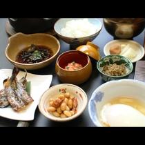 【朝食】旦那の真心のこもった和朝食で一日の活力チャージ!!