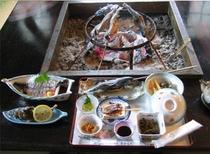 岩魚・山菜コース