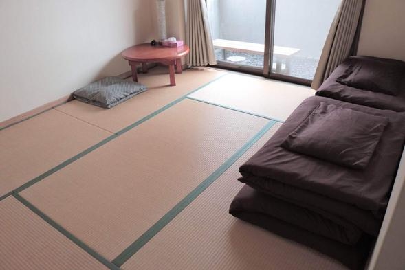 桜島が目の前☆ バルコニー付◎ 和室タイプの個室ツインルーム
