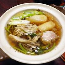 *夕食一例/秋田といえばこれ!名物・きりたんぽ鍋もお出しします!