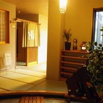 *大浴場一例/畳敷き優しい雰囲気。湯上りスペースもございますよ。